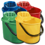 5050+colour RHP Everyday Deluxe 12ltr Mop Bucket & Wringer